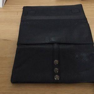 Brighten navy blue wallet